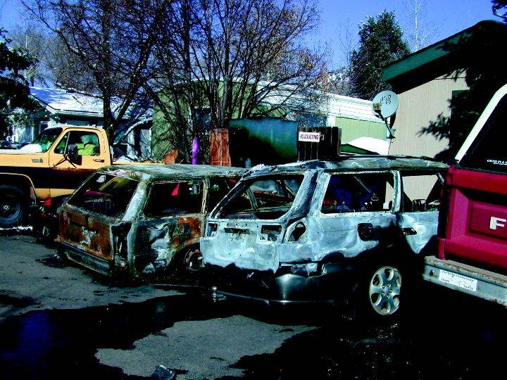 Electrical Short Leads To Car Fires