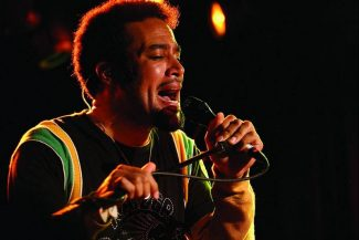 Rocker Ben Harper, with his band, the Innocent Criminals, plays Monday night, the second of a two-night stand at the Belly Up. (Stewart Oksenhorn/The Aspen Times)