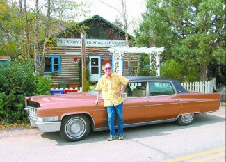 Contributed photo Woody Creek resident Gaylord Guenin's 1969 Cadillac Fleetwood Brougham is the lead item in a silent auction to benefit the WC3, a nonprofit organization working to reopen the Woody Creek Store as the Woody Creek Community Center.