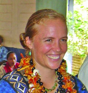 Tessa Horan, in Tonga just weeks before the shark attack that killed her while on Peace Corps assignment. (Contributed photo)