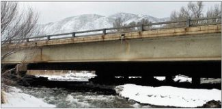 The Colorado Department of Transportation wants to remove an estimated 1,500 cubic yards of sand and cobble stones that have accumulated upstream from the Upper Basalt Bypass Bridge on Highway 82. (Jim Paussa/ Special to The Aspen Times)