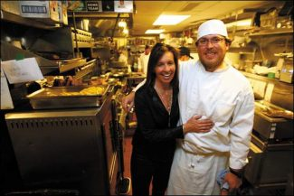 Cache Cache co-owners Jodi Larner and Chris Lanter, executive chef. (Jordan Curet/The Aspen Times