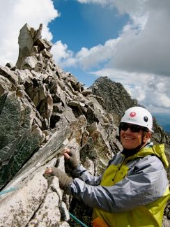 Dr. Gary Kitching on Capitol Peak in 2007.