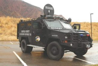 Contributed photoThe Garfield County All Hazards Response Team's BearCat.