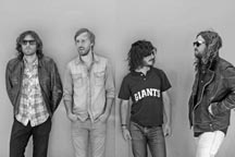 Contributed photoJ Roddy Walston & the Business, led by singer-pianist Walston, far right, perform Wednesday, Oct. 27 at Belly Up Aspen.