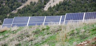 Janet Urquhart/The Aspen TimesShould investment in community solar farms, like this one in El Jebel, count as mitigation in an Aspen program? That's the issue before the city.