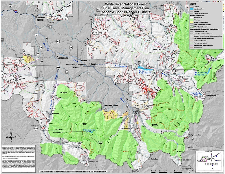 Forest Service finishes plan to manage White River | AspenTimes.com