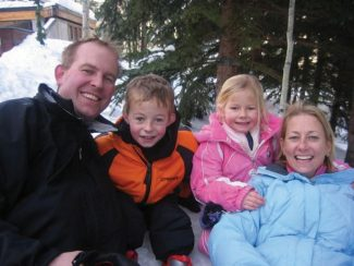 A Denver family of four died on either Nov. 27 or Nov. 28 of 2008 of carbon-monoxide poisoning. The Lofgren family - father Parker, son Owen, daughter Sophie and mother Caroline - were found dead at a home at 10 Popcorn Lane, outside of Aspen.