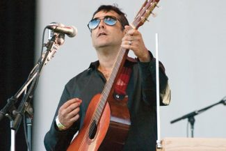 Stewart Oksenhorn/The Aspen TimesNick Urata, founder and leader of DeVotchKa, says the exotic flavors of the band's sound boils his blood. The band plays Belly Up Aspen on Friday.