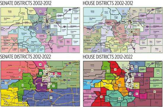 House District Map Colorado It's splitsville for local House Districts 61, 57 | AspenTimes.com