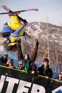 Jim Ryan/Special to The Aspen TimesBasalt's Torin Yater-Wallace soars in the superpipe at January's Winter X Games. The city of Aspen and Aspen Chamber Resort Association have agreed to pitch in $275,000 annually for the next two years in an effort to keep the games in Aspen.