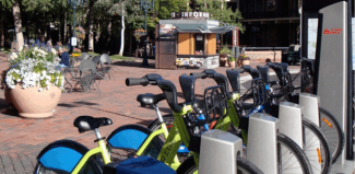 Courtesy of WE-CycleWE-Cycle has demonstrated the bike-sharing system in Aspen, but its formal debut will wait until next year.