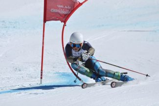 Contributed photoAspen Valley Ski and Snowboard Club athlete Sky Kelsey's standout winter included downhill and super G victories at the J3 Rocky/Central Division Junior Nationals.