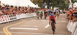 Jim Ryan/Special to The Aspen TimesBoulder cyclist Tom Danielson holds off a late push to win Wednesday's third stage of the USA Pro cycling Challenge, which kicked off in Gunnison and ended on Main Street in Aspen.