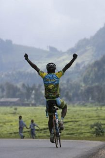 "Contributed photo""Rising from Ashes,"" a film chronicling the exploits of Rwanda's cycling team, will be shown at 5:30 p.m. Sunday at Aspen's Wheeler Opera House."