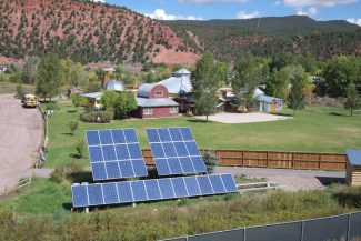 Courtesy of Community Office for Resource EfficienFees collected through the Renewable Energy Mitigation Program have been plowed back into the Roaring Fork Valley for a variety of energy efficiency and renewable energy projects. The Carbondale Community School received a grant for a 10-kilowatt solar photovoltaic system.