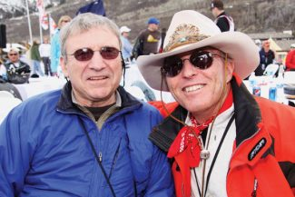 Contributed photoFormer U.S. Ski Team standouts and University of Colorado teammates Jimmie Heuga, left, and Billy Kidd won bronze and silver medals, respectively, in slalom at the 1964 Winter Olympics in Innsbruck, Austria.