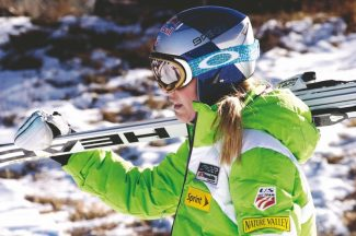 Jon Maletz/The Aspen TimesReigning World Cup overall champion Lindsey Vonn heads for Lift 1A on Friday during a freeski in advance of this weekend's Aspen Winternational races.