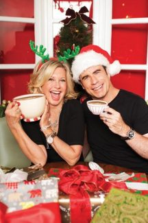 "Contributed photoJohn Travolta and Olivia Newton-John have collaborated on the holiday album, ""This Christmas."""