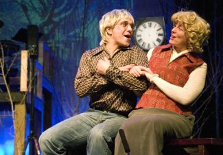 "Stewart Oksenhorn/The Aspen TimesKen Quiricone and Peggy Wilkie star in the Jayne Gottlieb Productions musical ""The Spirit of Aspen Spectacular,"" opening Friday at Aspen's Wheeler Opera House."