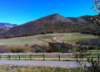 Courtesy Pitkin County Open Space and TrailsThis image depicts use of two sections of the old Maroon Creek pedestrian bridge on the Brush Creek Trail outside of Snowmass Village.