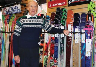 """For 33 years, Tom Anderson and his family have run Pomeroy Sports in downtown Aspen. Anderson will retire with the store's April 30 closing. """"It was a good run and it's something to be proud of,"""" he said."""
