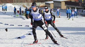 Katie Perhai/U.S. Ski TeamMichael Ward finished second at Soldier Hollow, Utah, in December. Soon he'll be competing at the world championships in Italy.