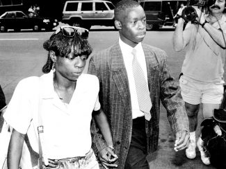 UNITED STATES - JULY 17:  Antron McCray suspect in the Central Park Jogger rape trial.  (Photo by Gerald Herbert/NY Daily News Archive via Getty Images)