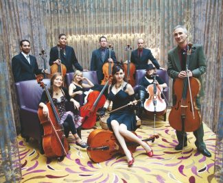 Tarina WestlundThe Portland Cello Project makes its local debut Saturday at PAC3 in Carbondale.