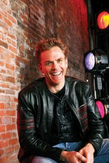 """Nora FellerChristopher Titus performs his comedy show, """"The Voices in My Head,"""" on Saturday to close the Wheeler Opera House's Aspen Laff Festival."""