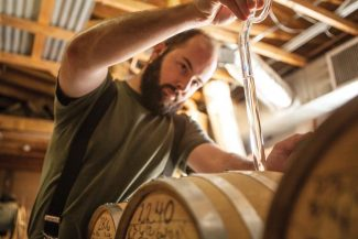 Contributed photoChip Tate in the process of making whiskey at his Balcones Distilling in Waco, Texas. Balcones' products, including the award-winning Texas Single Malt, will be served at this weekend's inaugural Aprs-Ski Cocktail Classic, centered in Snowmass Village.