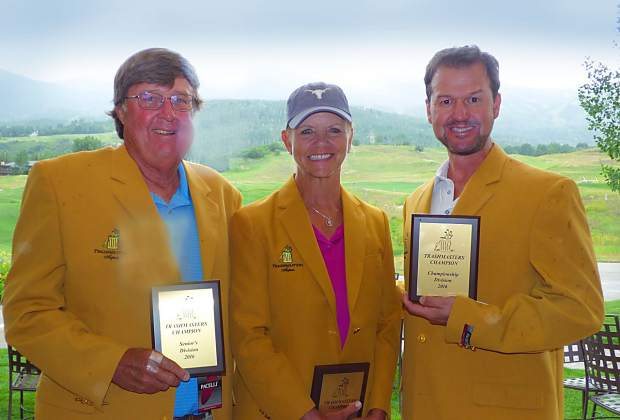 "The 24th Annual Trashmasters Golf Tournament was held Friday at The Snowmass Club. The ""The World's Most Unique Golf Tournament"" is a fundraiser for college scholarships. The tournament rewards strange and bizarre golf play and attracts players from all over the country in pursuit of the coveted ""gold jacket."" The"