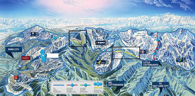 Vail Resorts Finalizes Deal On Park City Mountain Resort: Park City Mountain Map At Slyspyder.com