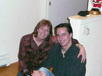 Kim Baillargeon, of Aspen, with her son Raymond Vieira. Raymond committed suicide in February in Snowmass Village at the age of 23. Kim has since become involved in public discussions about suicide and addiction.