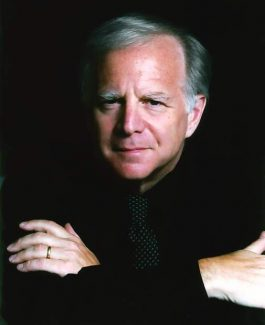 "Leonard Slatkin conducts the Aspen Festival Orchestra in a performance of Strauss' ""Alpine Symphony"" on Sunday, Slatkin's last in Aspen. He has been performing in Aspen since he came as a student in the mid-1960s."