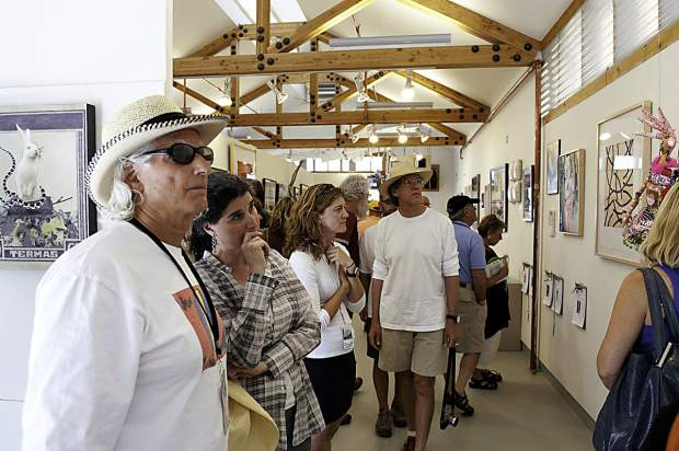 A preview exhibition of the works to be auctioned off at the Anderson Ranch anniversary gala is running Friday, July 15 through Wednesday, July 20 at the Patton-Malott Gallery.
