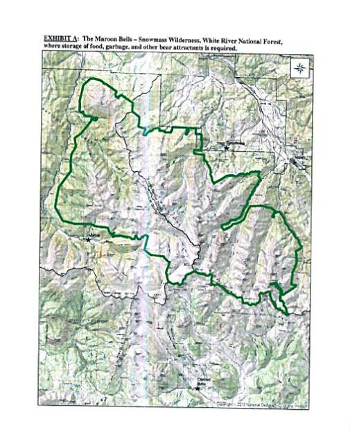 Bear-resistant containers required for backpackers in Aspen area ...