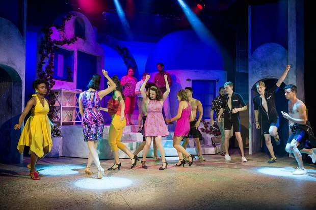 theatre review mamma mia After a decade on broadway and a prolonged national tour, mamma mia has come to toby's dinner theatre of columbia for what promises to continue the winning streak for this feel-good and tune-filled show cast to perfection, toby's mamma mia is a show to which you can – to quote one of the .