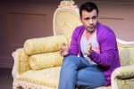 """Actor Jeffrey Correia in a rehearsal for """"Buyer & Cellar"""" at Theatre Aspen."""