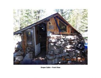 The Forest Service is considering tearing down this cabin in the backcountry of Burnt Mountain.