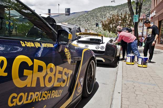 Drivers in the Gold Rush Rally had the option of doing the entire Boston-LA route or doing Boston-Nashville or Colorado Springs-LA.