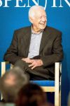 Jimmy Carter spoke at The Aspen Institute Tuesday afternoon.