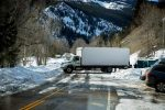 A truck turns around near the closed Independence Pass gate on the Aspen side of the pass. With the closure of Glenwood Canyon due to a rockfall, many cars and trucks followed GPS alternate route directions toward the pass, which is always closed throughout winter months. A Google Maps search suggested drivers head up Frying Pan Road toward Meredith and then up toward Eagle, another impassable winter route, while yet another iPhone maps search suggested Cottonwood Pass, between the Catherine Store and Gypsum, also impassable during winter months.