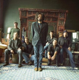Counting Crows, led by singer Adam Duritz, plays a sold-out show at Belly Up tonight.