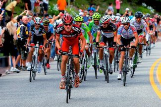 Tejay Van Garderen of BMC Racing, riding in the 2012 stage that finished at Beaver Creek, rode to the overall title int he 2013 USA Pro Challenge. His BMC team is confirmed for the 2014 race.