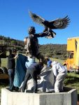 """The John Denver """"Spirit"""" statue was removed from the Windstar property in Old Snowmass in 2013 and was installed at the Colorado Music Hall of Fame at Red Rocks."""