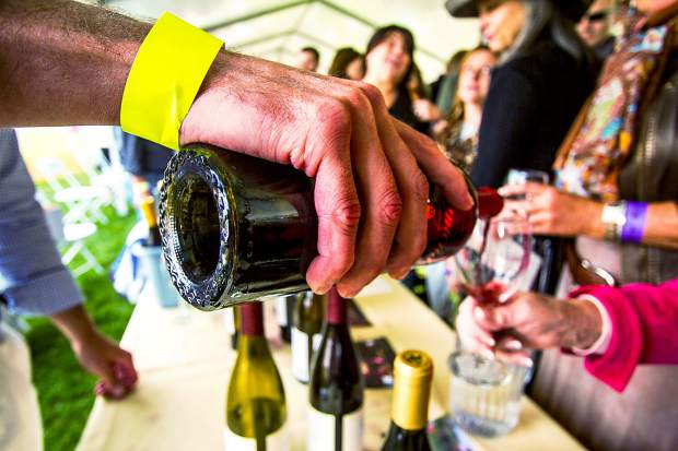 Some 500 wines will be poured at today's Snowmass Wine Festival Grand Tasting.