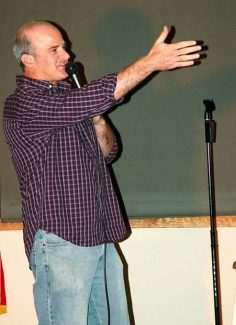 Basalt comedian Todd Hartley hosts and performs in the Sunday Funnies series, opening tonight at Heather's in Basalt.