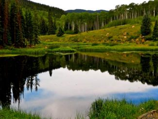 Middle Lake in the Thompson Divide area has an oil and gas lease in place nearby. Special places like the lake are the reason Thompson Divide Coalition is focused on saving the 221,500-acre area.