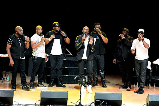 Naturally 7 performed Sunday evening at the JAS June Experience.